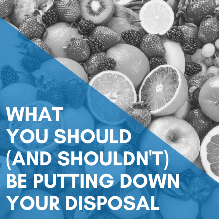 What CAN I Put Down My Garbage Disposal?