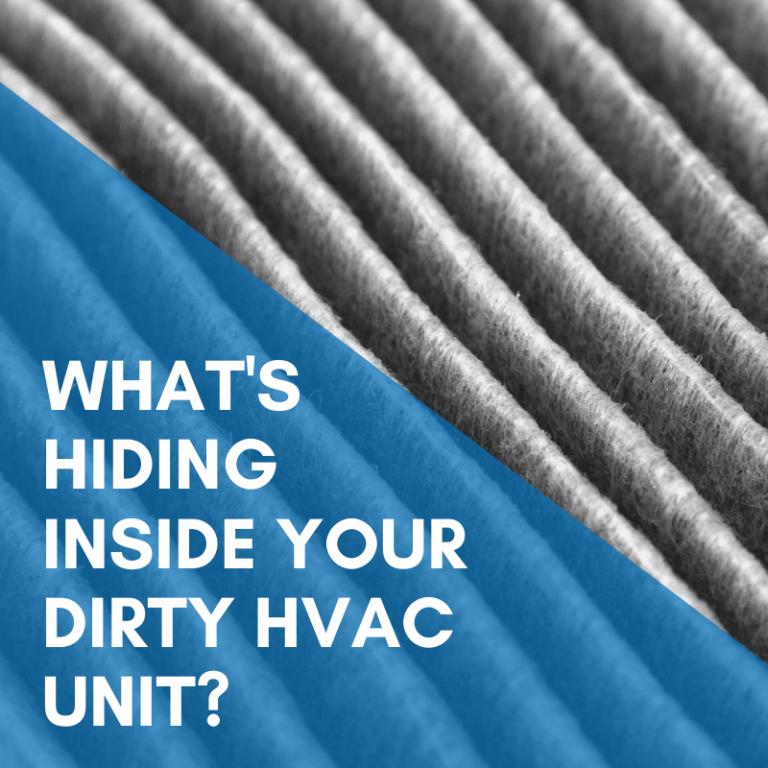 What's Hiding insideYour Dirty HVAC Unit?