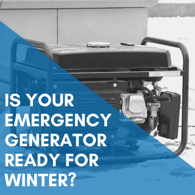 Is Your Emergency Generator Ready For Winter?