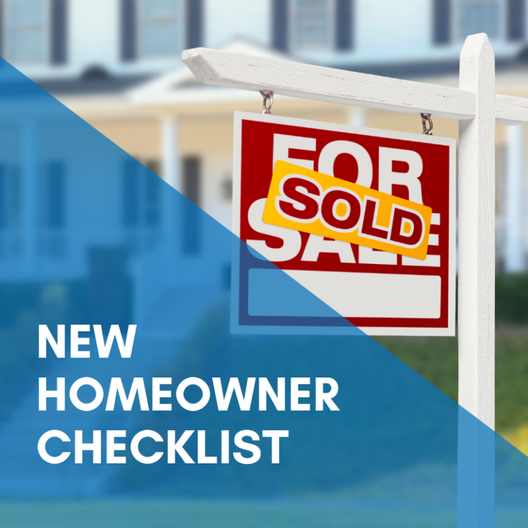 New Homeowner Checklist