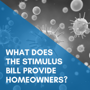 What does the stimulus bill provide homeowners?
