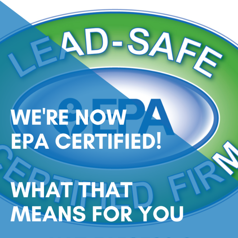 We're Now EPA Certified! Learn What It Means For You