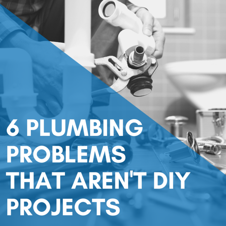 6 Home Plumbing Problems That Are Not DIY Projects for Homeowners