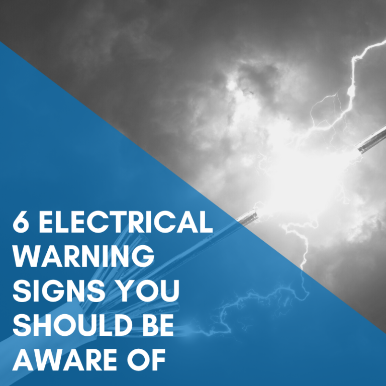 6 Electrical Warning Signs You Should Be Aware Of