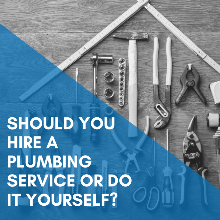 Should You Hire A Plumbing Service or Do It Yourself?